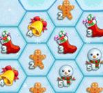 Hexagonal Christmas Puzzle